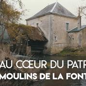 Loto du patrimoine 2019: à la découverte des moulins de la Fontaine, témoins d'une activité ancestrale
