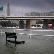 Washington: des pluies diluviennes causent d'importants dégâts dans la capitale américaine