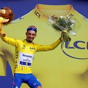 Julian Alaphilippe, un maillot jaune pour la France des «gilets jaunes»