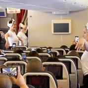 Le ballet de l'Opéra de Paris danse pour Air France à 10.000 mètres d'altitude