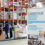 Carrefour poursuit sa transformation en cédant des entrepôts