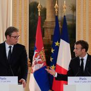 Macron reprend contact avec Belgrade