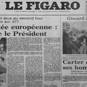 Simone Veil, première femme élue présidente du Parlement européen, il y a 40 ans