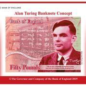 Le père de l'ordinateur et de l'IA Alan Turing, nouveau visage des billets de 50 livres sterling