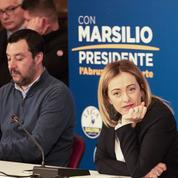 Giorgia Meloni, une femme à la droite de Salvini