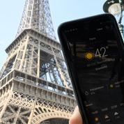 Record absolu de température mesuré à Paris et dans le nord de la France