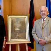 Un tableau volé par les nazis en Normandie et restitué aujourd'hui cherche ses propriétaires