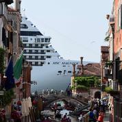 Venise lance un appel à l'union contre les dangers des paquebots géants