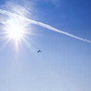 Le réchauffement climatique aggravé par lestraînées des avions