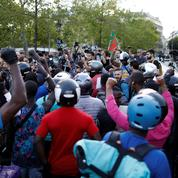 Les protestations continuent chez Deliveroo