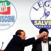 Salvini cherche à ressusciter son alliance avec Berlusconi