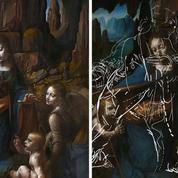 L'esquisse cachée derrière la Vierge aux rochers londonienne de Vinci enfin révélée