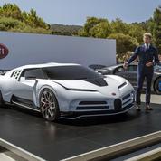 Bugatti Centodieci, la supercar hommage
