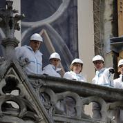 Dans Notre-Dame de Paris, les travaux ont pu reprendre