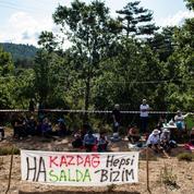 Un sit-in pour sauver le «poumon vert» de la Turquie
