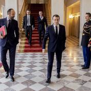 Macron affiche sa volonté de relancer les réformes