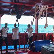 Après l'Open Arms ,les 356 rescapés de l'Ocean Viking restent bloqués en mer