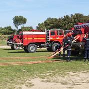 Sécheresse: les feux de végétaux menacent dans le nord de la France