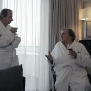 Thalasso :carton plein à l'avant-première pour les pitreries de Depardieu et Houellebecq