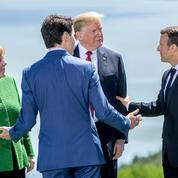 Emmanuel Macron en médiateur au G7