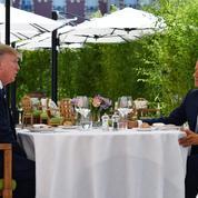 Sommet du G7: dans les coulisses du déjeuner «improvisé» entre Trump et Macron