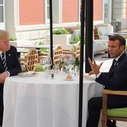 Au sommet du G7, Paris tente de faire baisser la tension sur la taxe Gafa