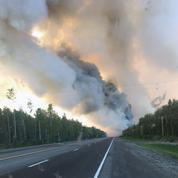 Des feux records dans tout le cercle arctique