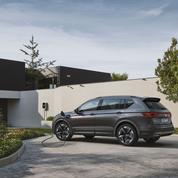 Seat Tarraco FR PHEV, un grand SUV hybride rechargeable