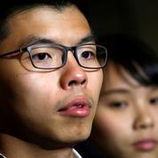 Hongkong: le militant Joshua Wong arrêté en plein mouvement anti-gouvernemental