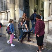 «On se sent comme des cobayes»: au lycée Condorcet, les premières font leur rentrée