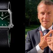 Quelle est la nouvelle montre (française) d'Emmanuel Macron?