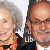 Les romanciers Margaret Atwood et Salman Rushdie en lice pour le prestigieux Booker Prize