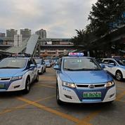 À Shenzhen, les taxis roulent à l'électrique