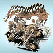Exposition Vinci: un lion en bois, ancêtre de la robotique moderne