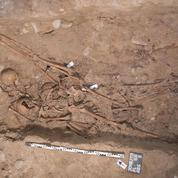 Trente squelettes de jeunes soldats napoléoniens exhumés à Bâle