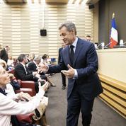Pour Nicolas Sarkozy, «il ne peut pas y avoir de continuité sans rupture»