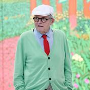Le peintre David Hockney s'installe en Normandie pour peindre, manger et... fumer