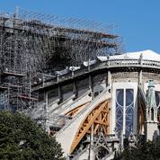 À Notre-Dame, un chantier précaire