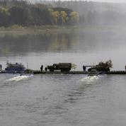 Avec l'armée russe, en manœuvre en Sibérie