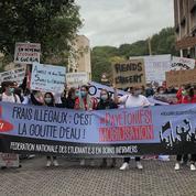 Les étudiants infirmiers mobilisés contre des frais de scolarité «illégaux»