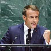 ONU: Macron monte au front sur le dossier iranien