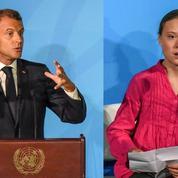Climat: Emmanuel Macron reproche à Greta Thunberg d'«antagoniser nos sociétés»