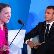 Macron, Thunberg: «La communication dévore ses propres enfants»