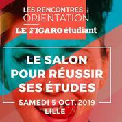Lille: rendez-vous aux Rencontres de l'orientation du Figaro Étudiant le 5 octobre 2019