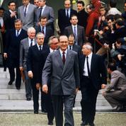 Jacques Chirac, deux fois à Matignon à dix ans d'écart