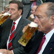 Jacques Chirac et son tandem avec Gerhard Schröder