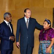 Jacques Chirac, un ardent défenseur des sociétés indigènes
