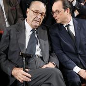 François Hollande se souvient de Jacques Chirac «le combattant»