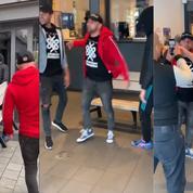 Des rappeurs tournent un clip sauvage dans un commissariat de Molenbeek