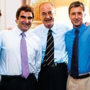 Les indiscrétions du Figaro Magazine :quatre hommes et un président